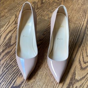 Louboutin pigalle 100mm size 39